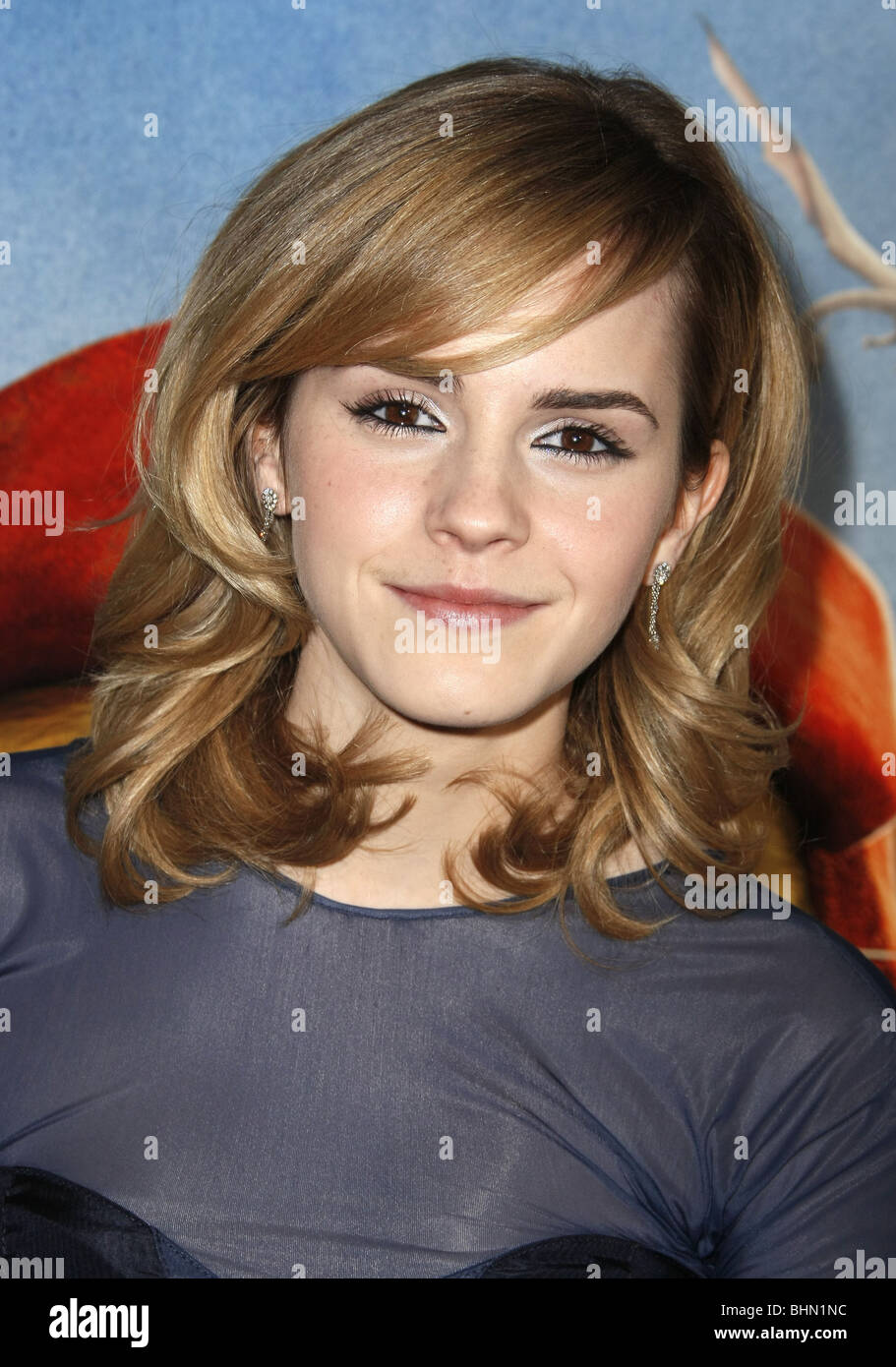 EMMA WATSON THE TALES OF DESPEREAUX WORLD PREMIERE HOLLYWOOD LOS ANGELES CA USA 07 December 2008 - Stock Image