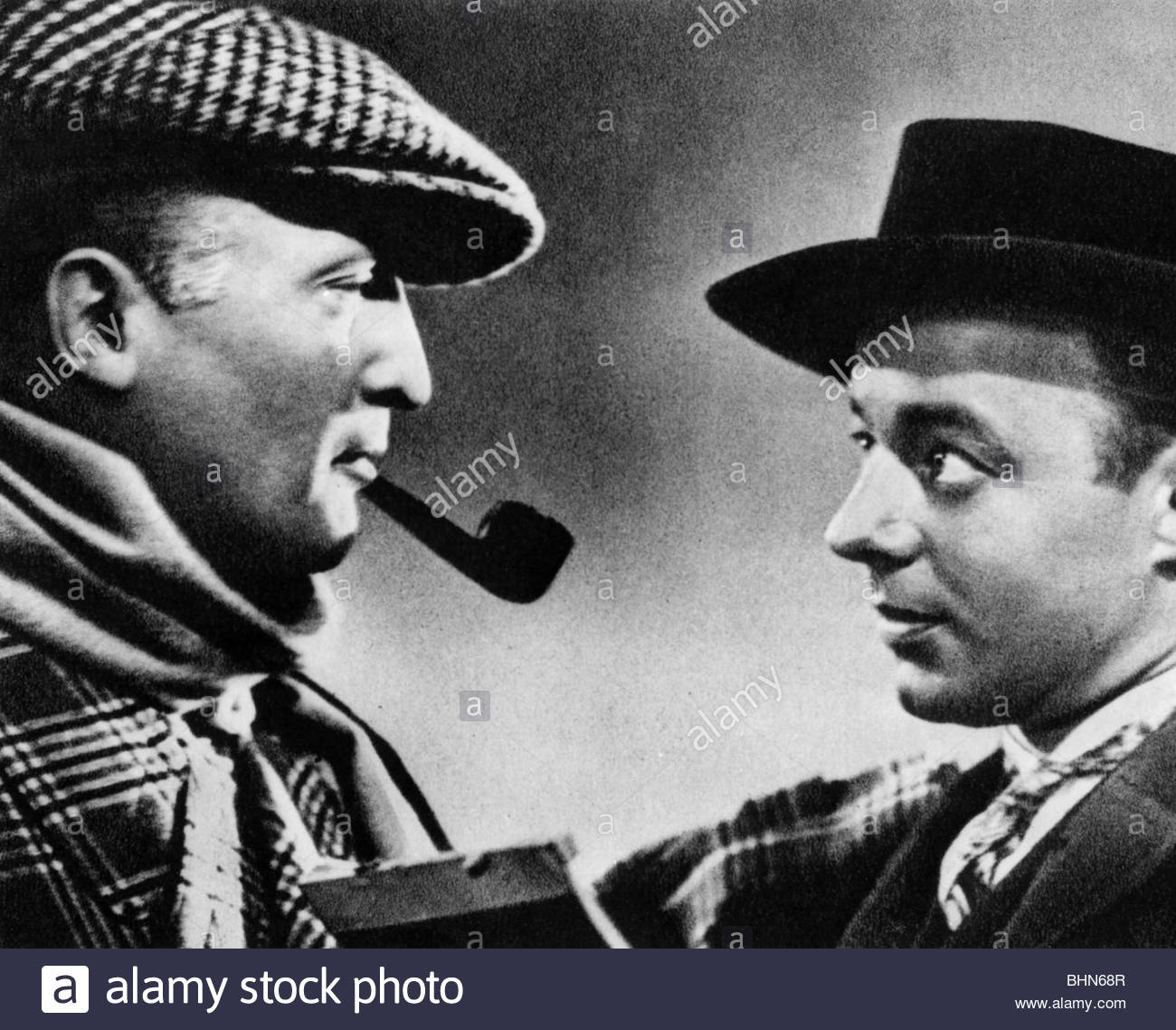 Albers, Hans, 22.9.1891 - 24.7.1960, German actor, portrait, with Heinz Ruehmann, scene from the movie 'The - Stock Image