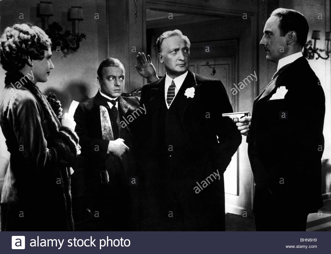movie, 'The Man Who Was Sherlock Holmes' (Der Mann, der Sherlock Holmes war), DEU 1937, director: Karl Hartl, - Stock Image