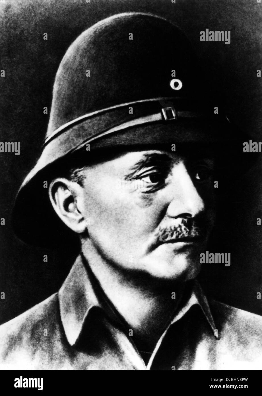 Lettow-Vorbeck, Paul von, 20.3.1870 - 9.3.1964, German general, commander of German forces in East Africa 1913  - Stock Image