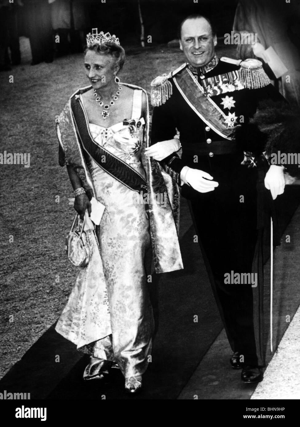 King Of Norway 21 9 1957 17 1 1991 Stock Photos
