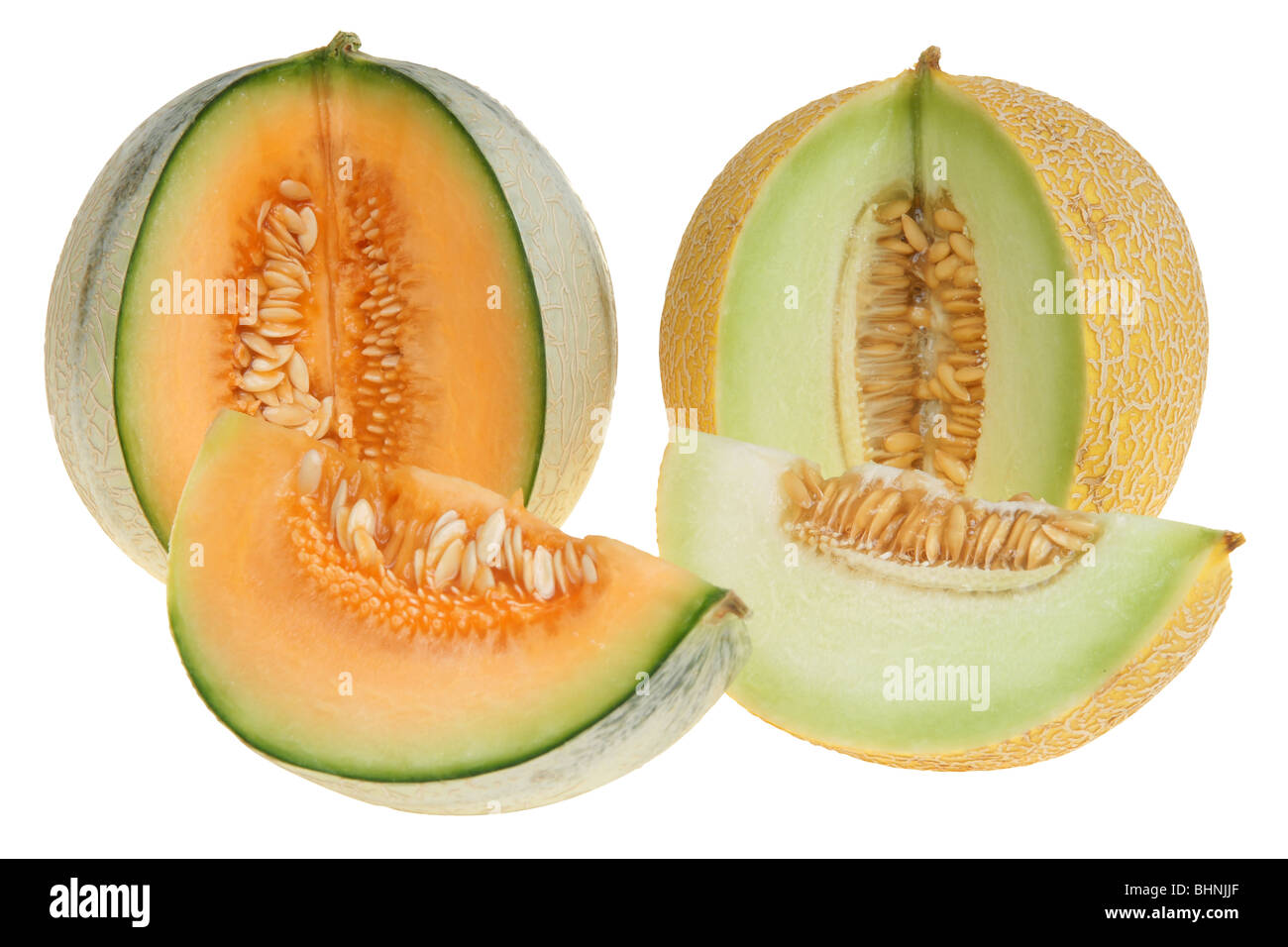 Honey Rock Melon High Resolution Stock Photography And Images Alamy When it comes to the difference between cantaloupe and honeydew, two major factors are color and texture. https www alamy com stock photo big cut yellow melon isolated on white background clipping path 28135143 html