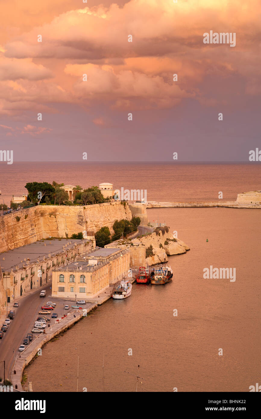 Fort St. Elmo, Valletta - Stock Image
