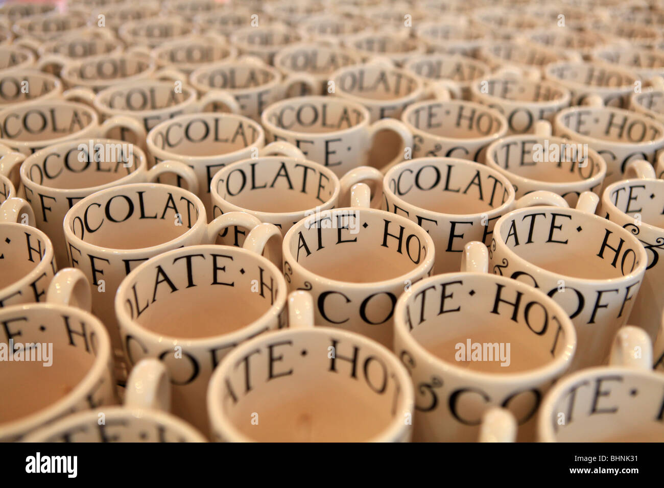 Emma Bridgewater, pottery, Stoke on Trent, Stock Photo