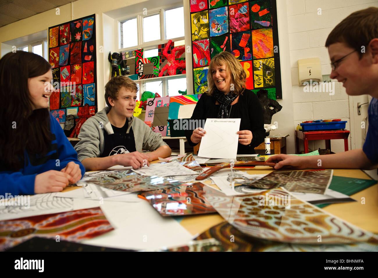 Question risk Female art teacher male model the word