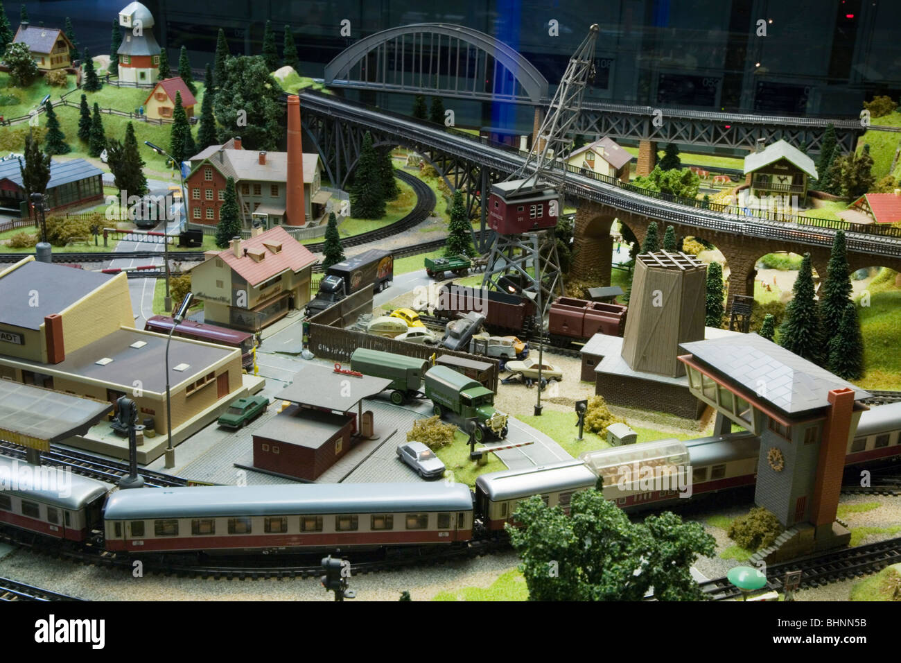 HO Scale Electric Model Toy train Large scale train set  Dresden