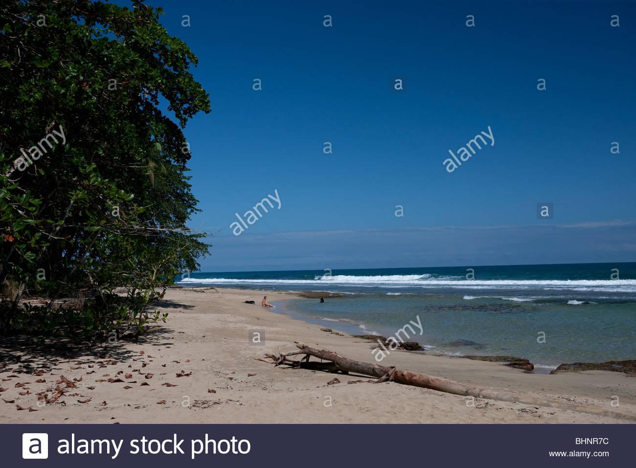 Punta Uva, Costa Rica - Stock Image