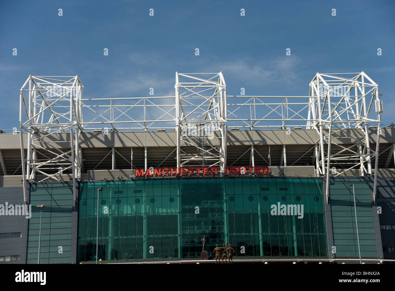 Old Trafford the stadium of Manchester United - Stock Image