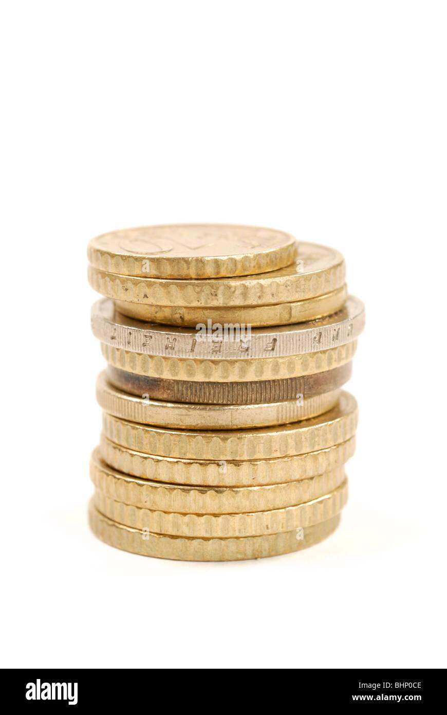 Euro cents - Stock Image