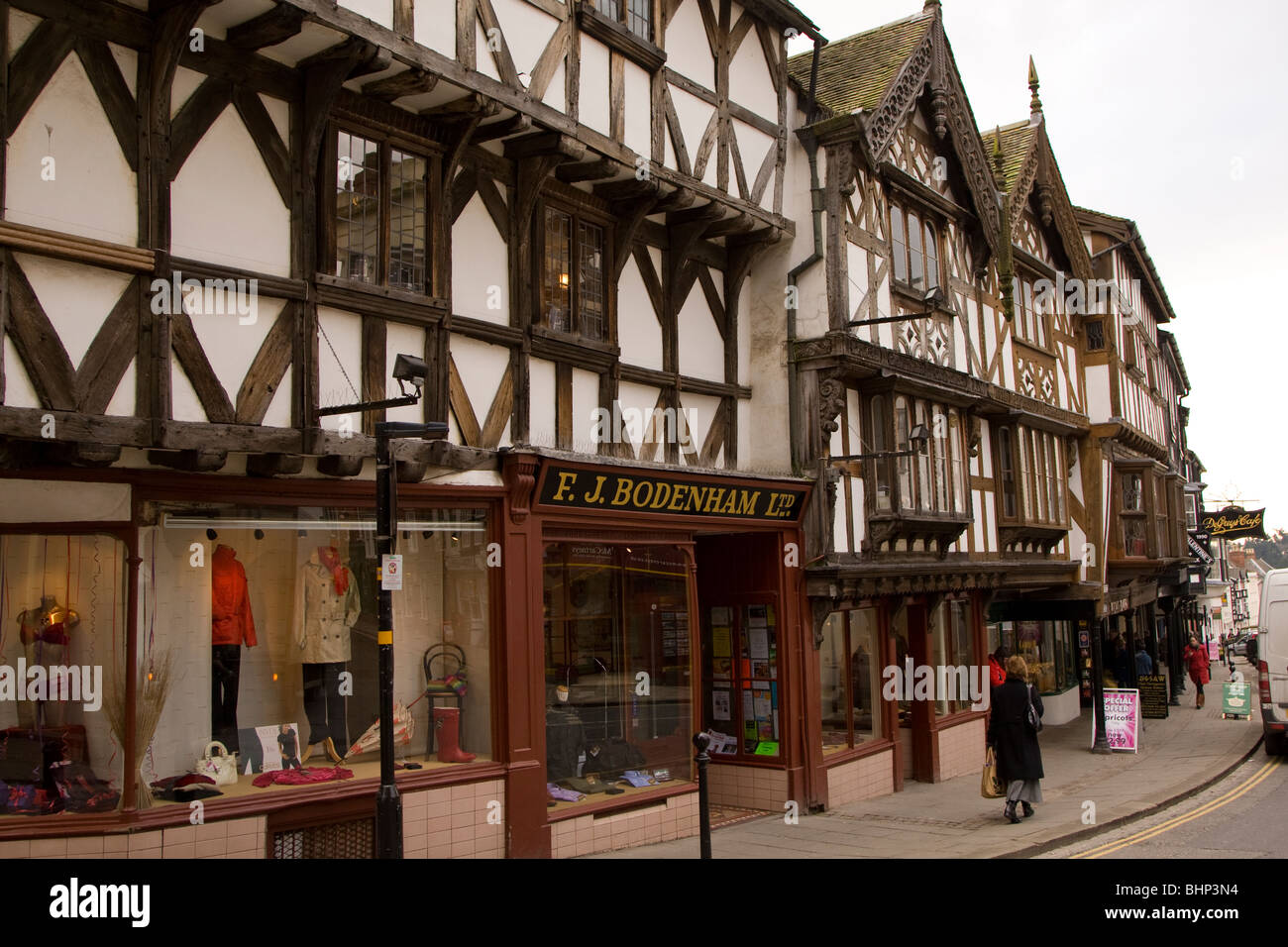 Ludlow, Shropshire, England - Stock Image