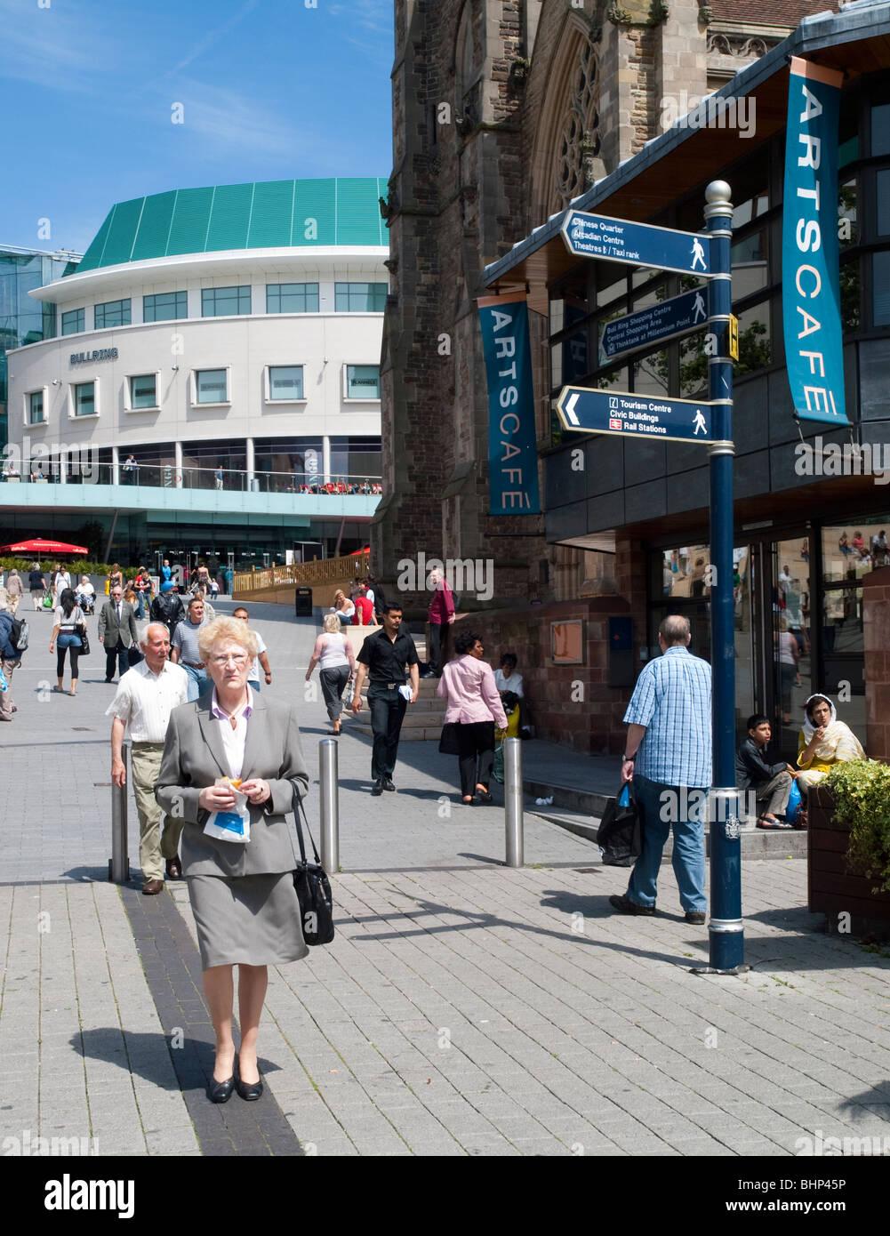 Birmingham City Centre, West Midlands UK - Stock Image