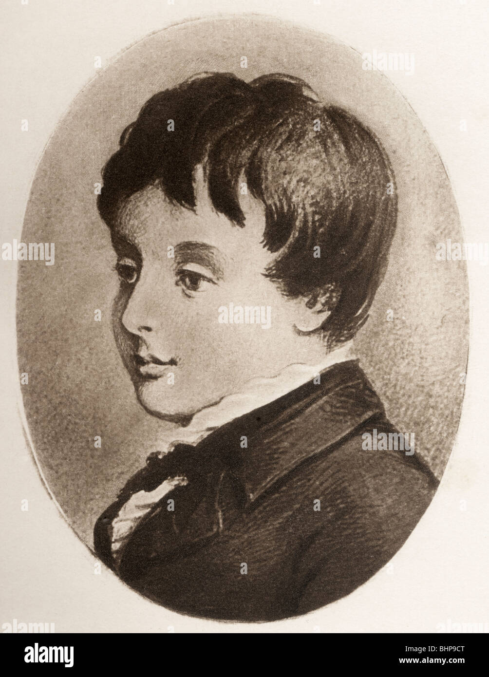 Charles Stewart Parnell, 1846 – 1891 aged 8. - Stock Image