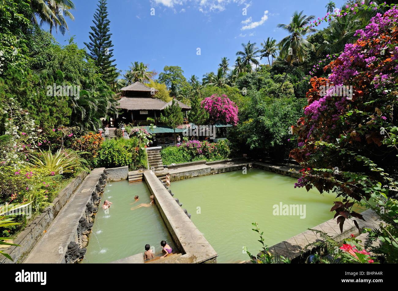 Thermal Water Swimming Pool On Bali Thermal Spring Obyek