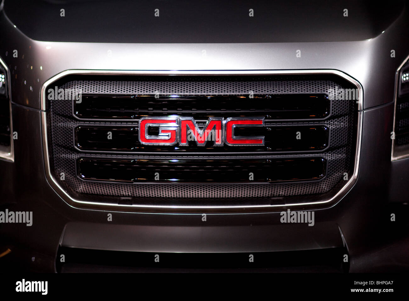 GMC Grille - Stock Image