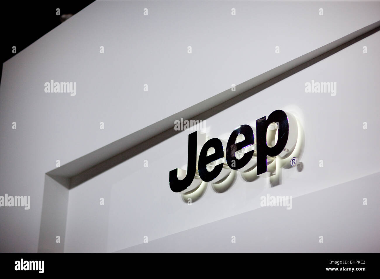 Jeep Logo - Stock Image