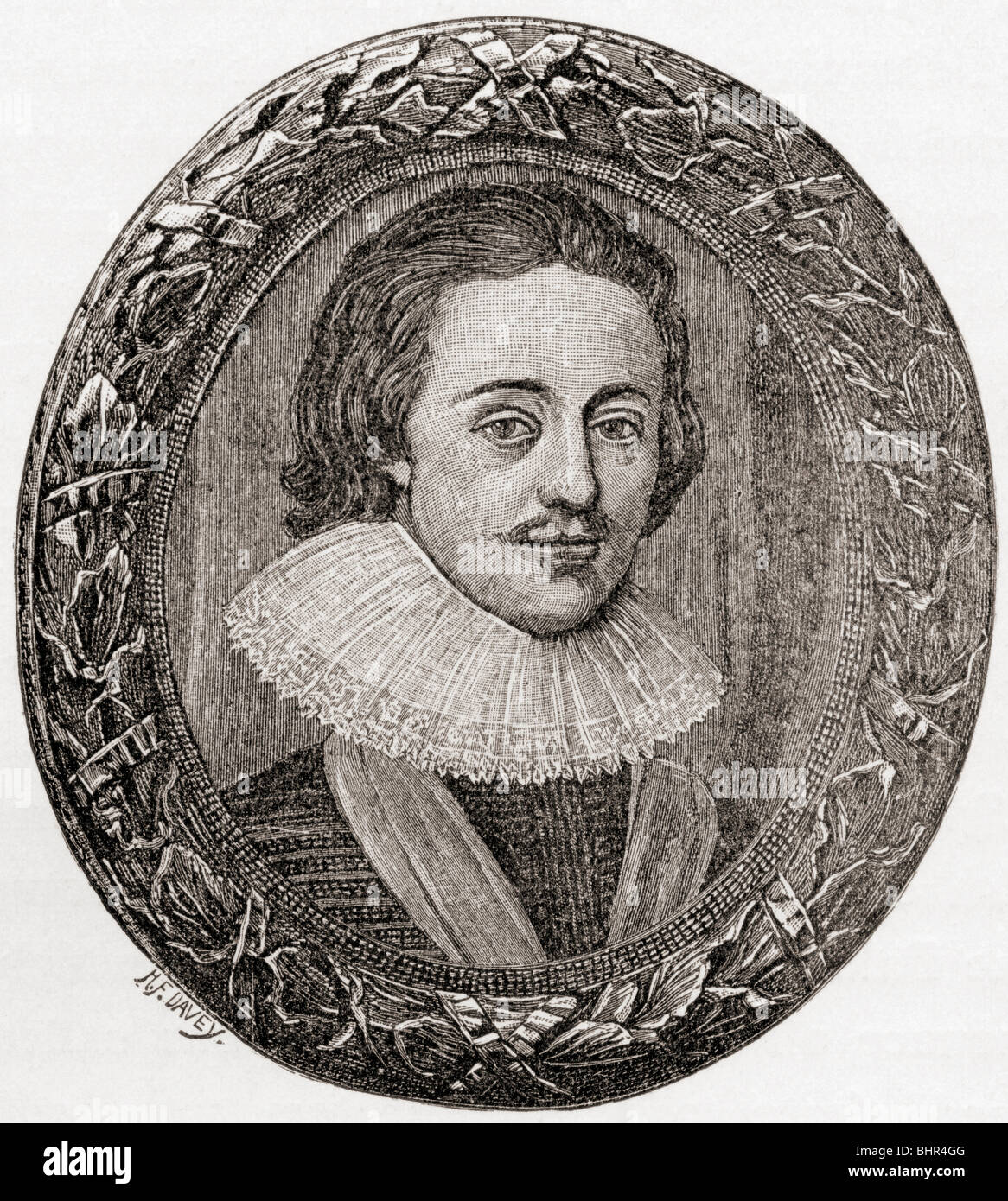 Charles I, 1600 to 1649, as Prince of Wales. - Stock Image