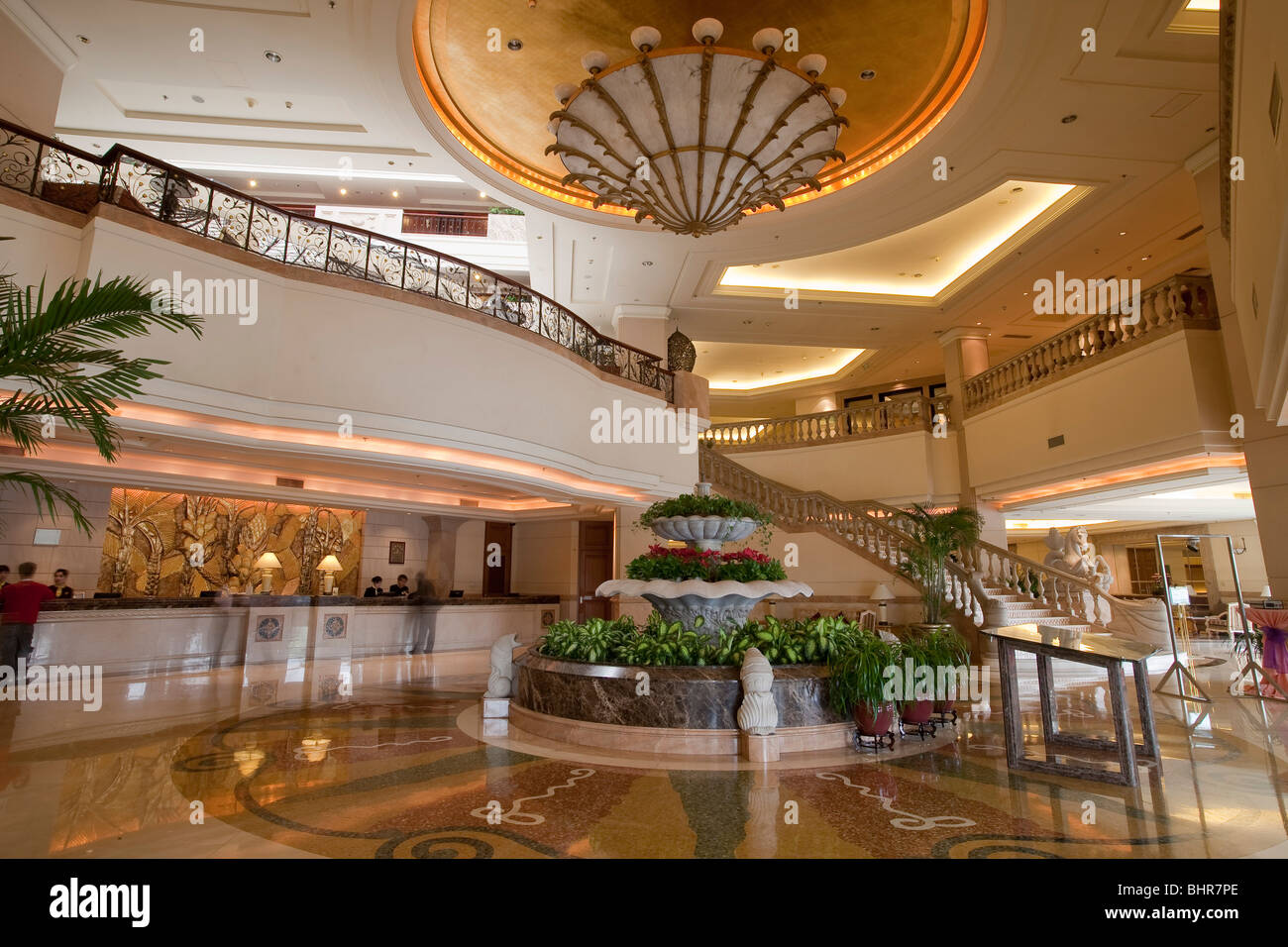 Hotel - Stock Image