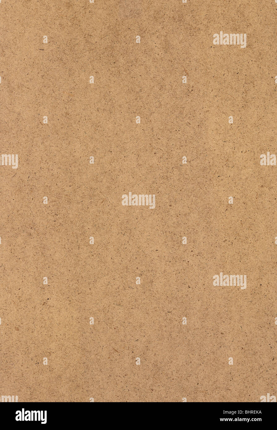 Сardboard sheet plain flat texture surface. NATIVE SIZE, NOT UPSCALED. - Stock Image