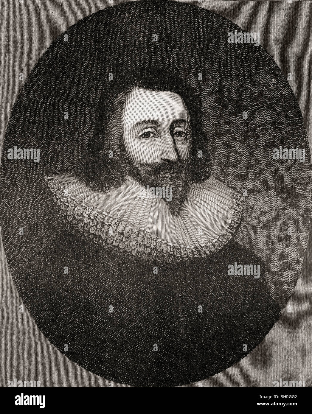 Sir John Eliot, 1592 to 1632. English statesman. Stock Photo