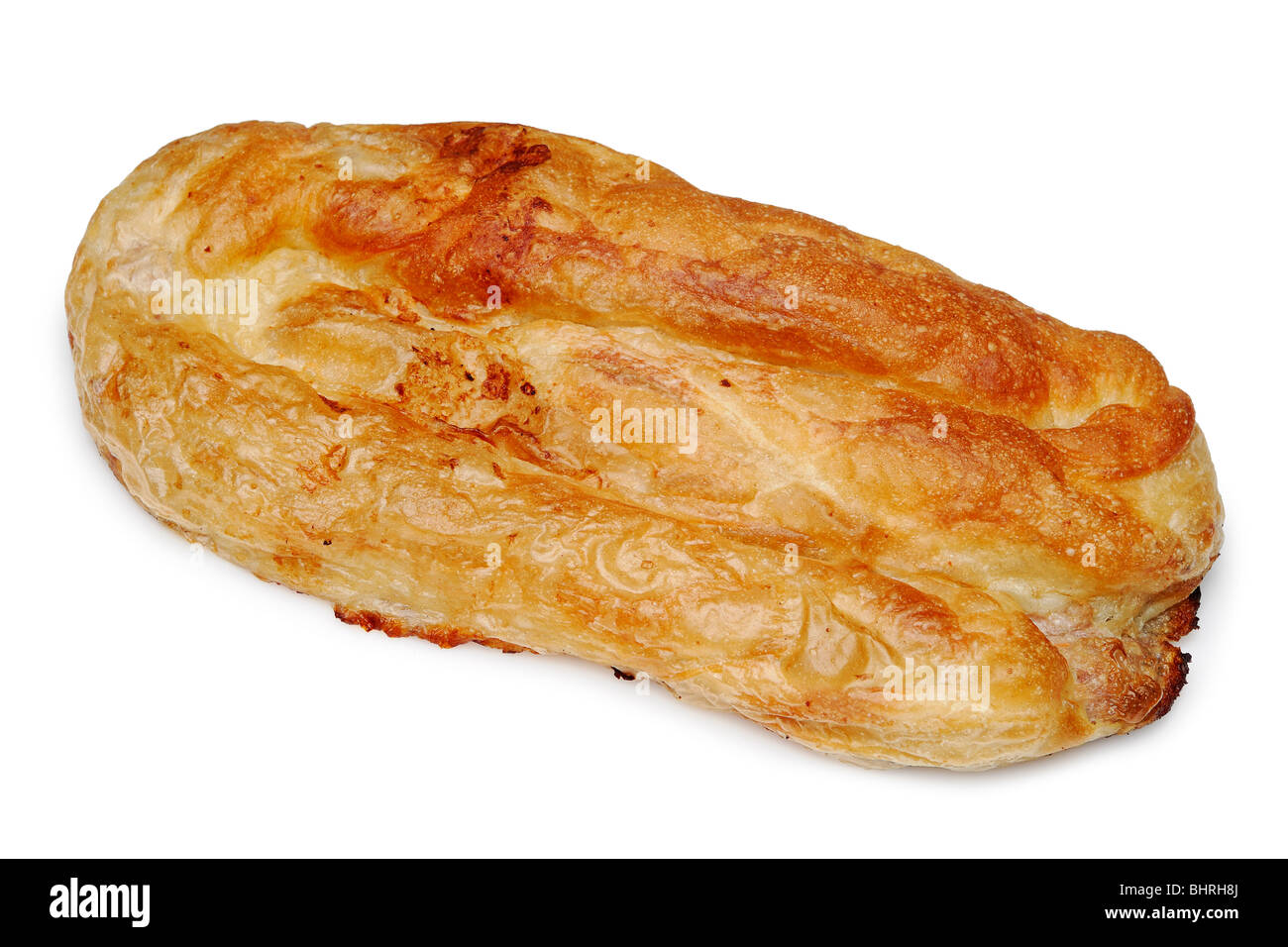 Burek a Traditional Meat Filled Pastry Dish from Bosnia and Herzegovina - Stock Image