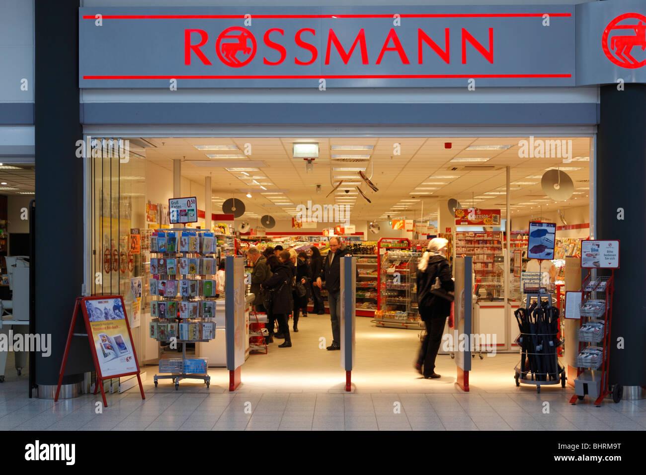 drug store ROSSMANN - Stock Image