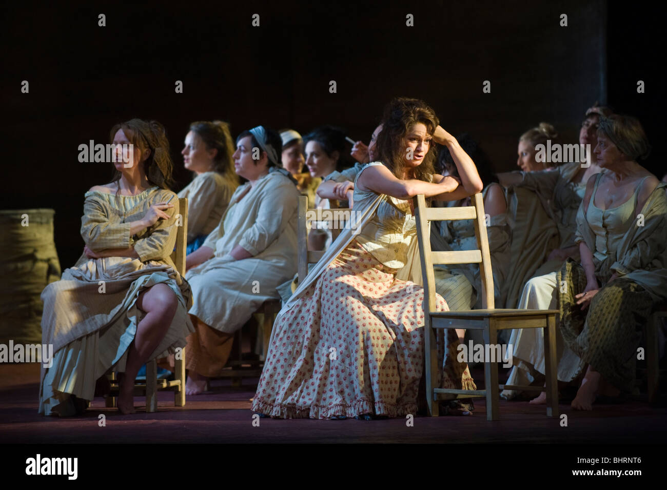 Welsh National Opera production of Carmen by Bizet at Wales Millennium Centre Cardiff South Wales UK - Stock Image