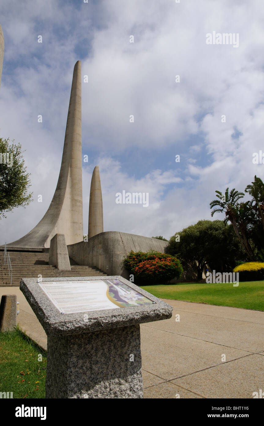 The Afrikaans Language Monument Paarl western Cape South Africa - Stock Image
