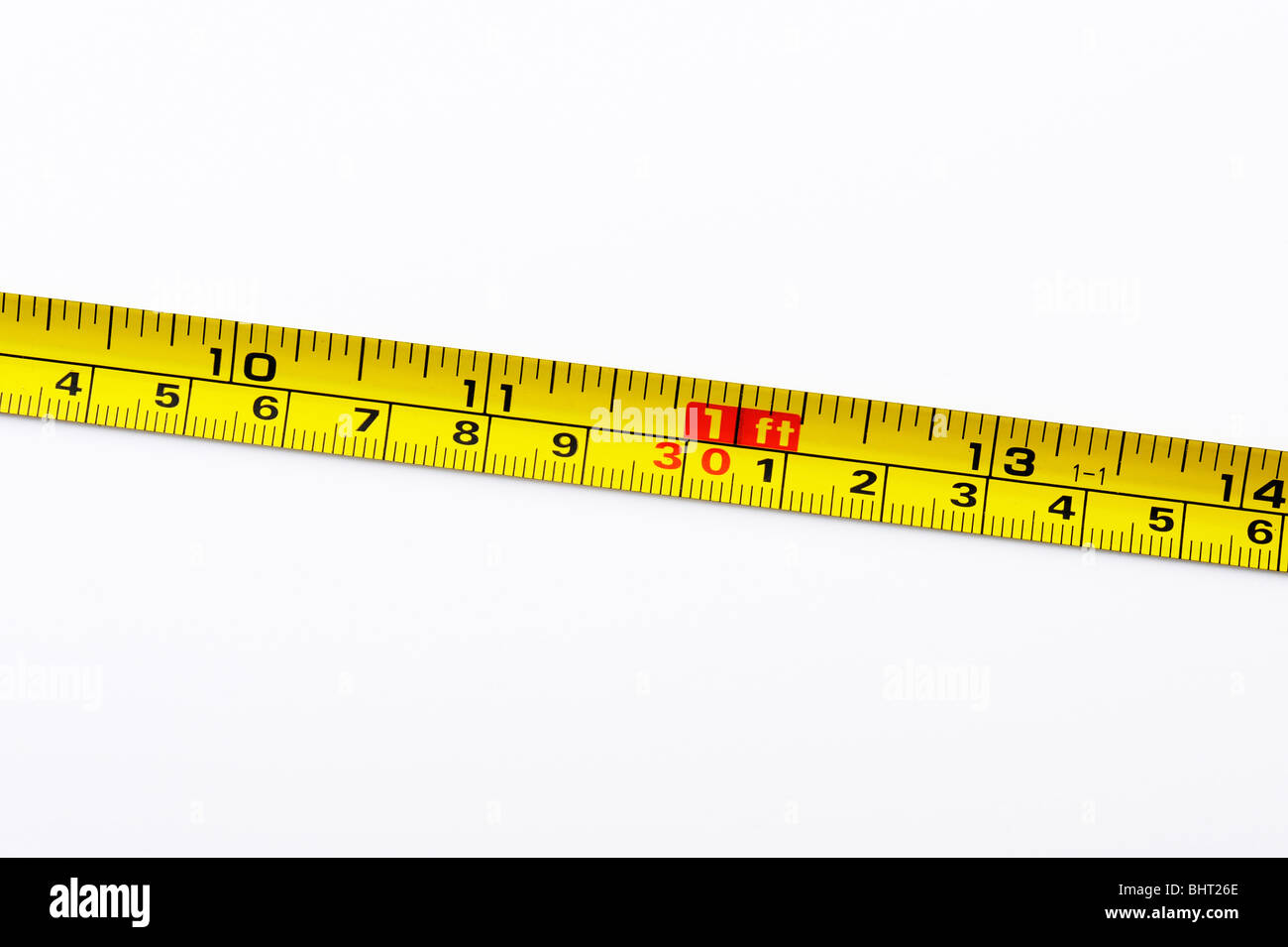 A tape measure - Stock Image