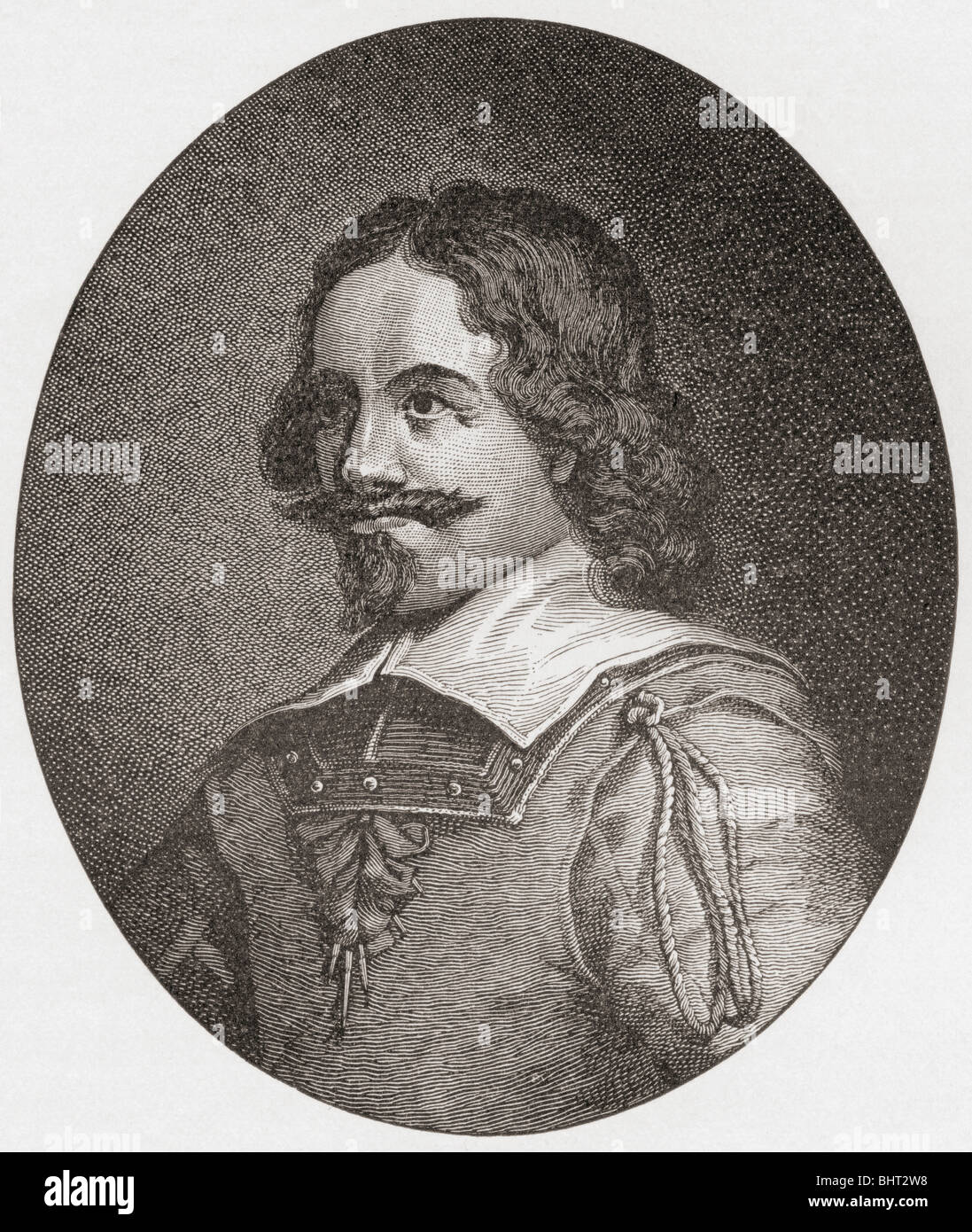 Alexander Leslie, 1st Earl of Leven, 1582 to 1661. Scottish soldier in Dutch, Swedish and Scottish service. - Stock Image