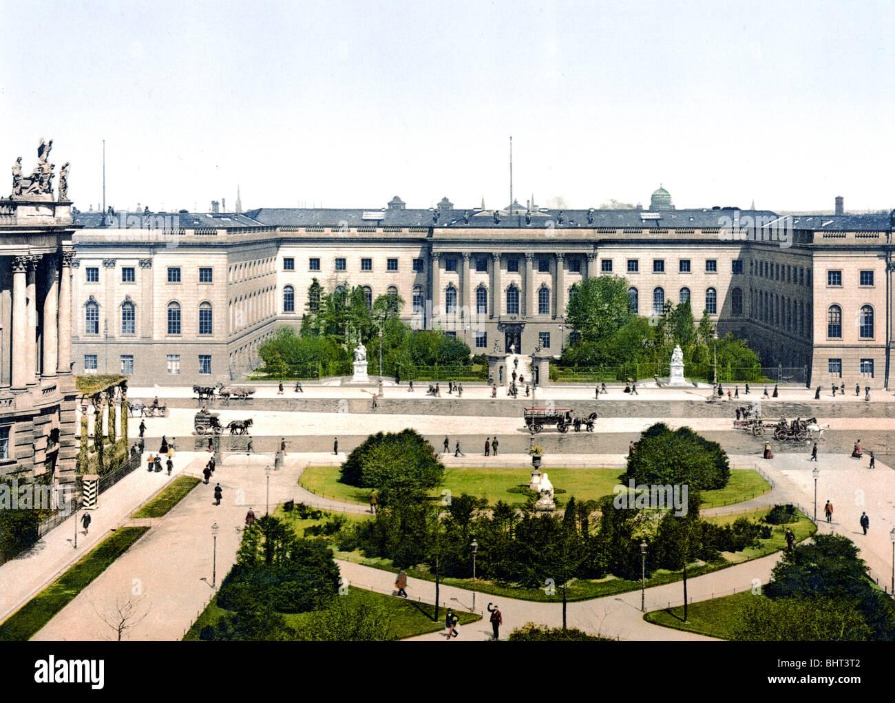 Die Universität Berlin - Stock Image