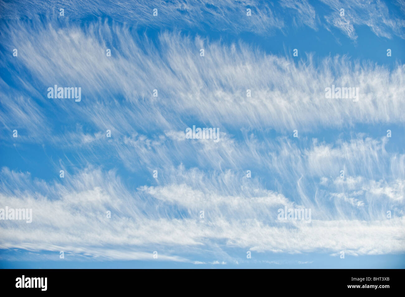Cirrus clouds - Stock Image