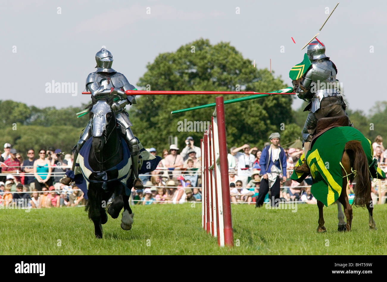 medieval jousting competition stock photo 28190565 alamy