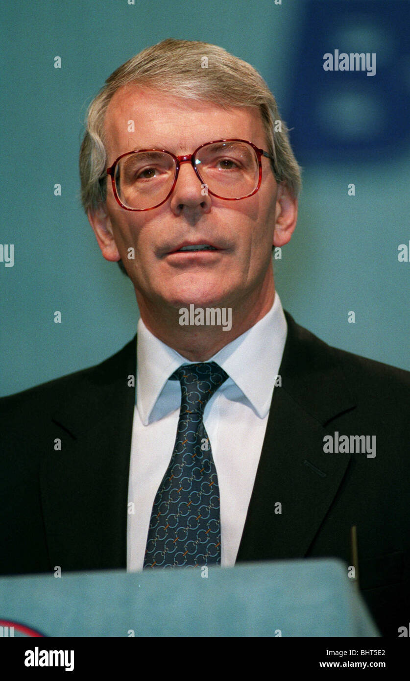 JOHN MAJOR MP PRIME MINISTER BRITIAN 07 March 1993 - Stock Image