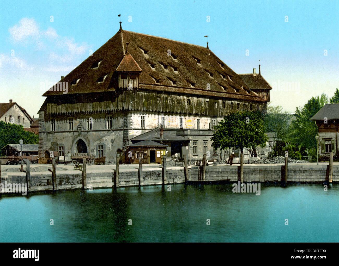 Conciliumgebäude Konstanz - Stock Image