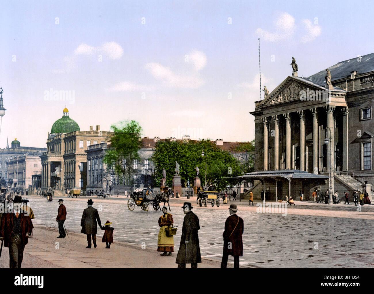 Opernplatz Berlin - Stock Image