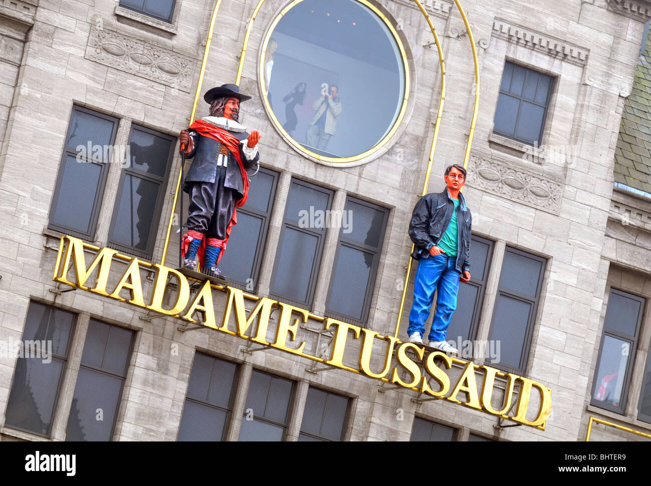 Madame Tussaud museum, Amsterdam, Holland, Netherlands - Stock Image
