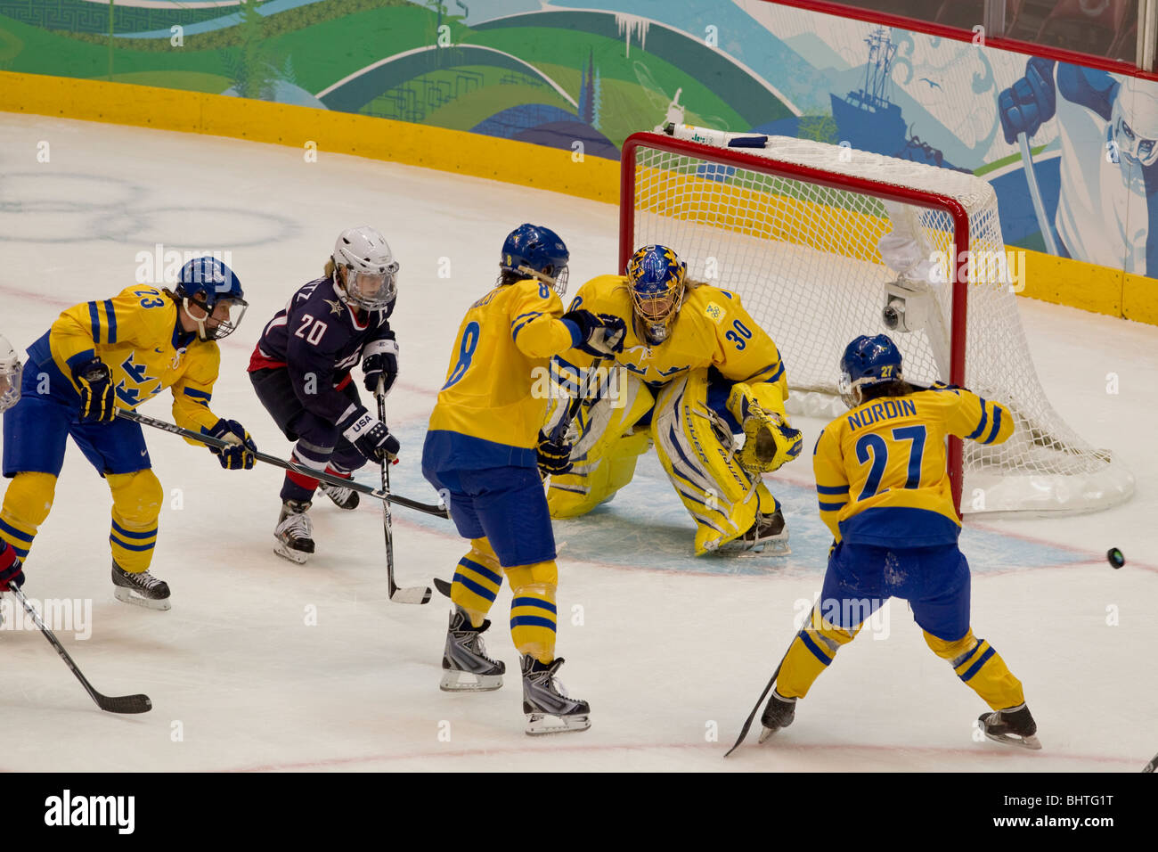 Usa Sweden Women S Ice Hockey At The 2010 Olympic Winter Games