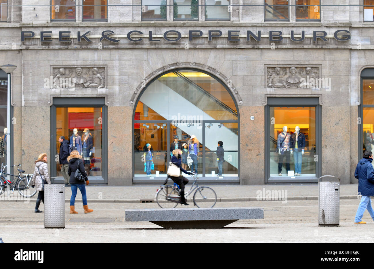 69c69bde58bc Peek & Cloppenburg store, Amsterdam, Holland, Netherlands Stock ...