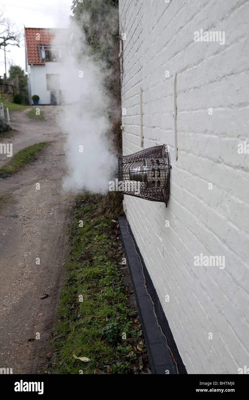 Steam heating in a private house 99