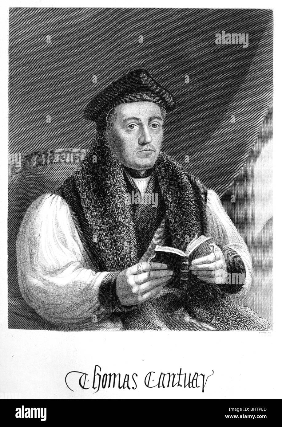 Archbishop Cranmer - Stock Image