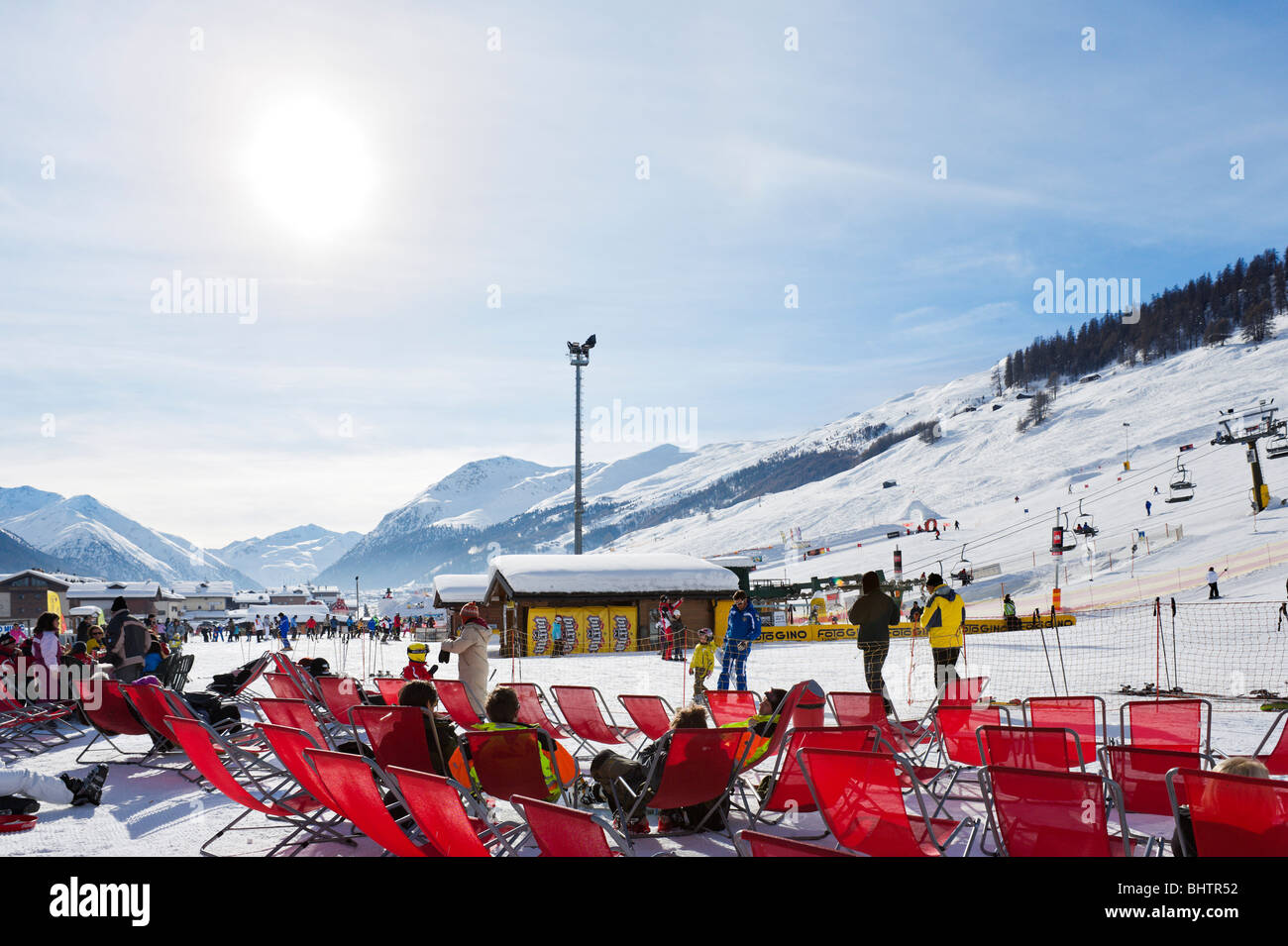 Deckchairs Deck Chairs Deck Chairs Stock Photos