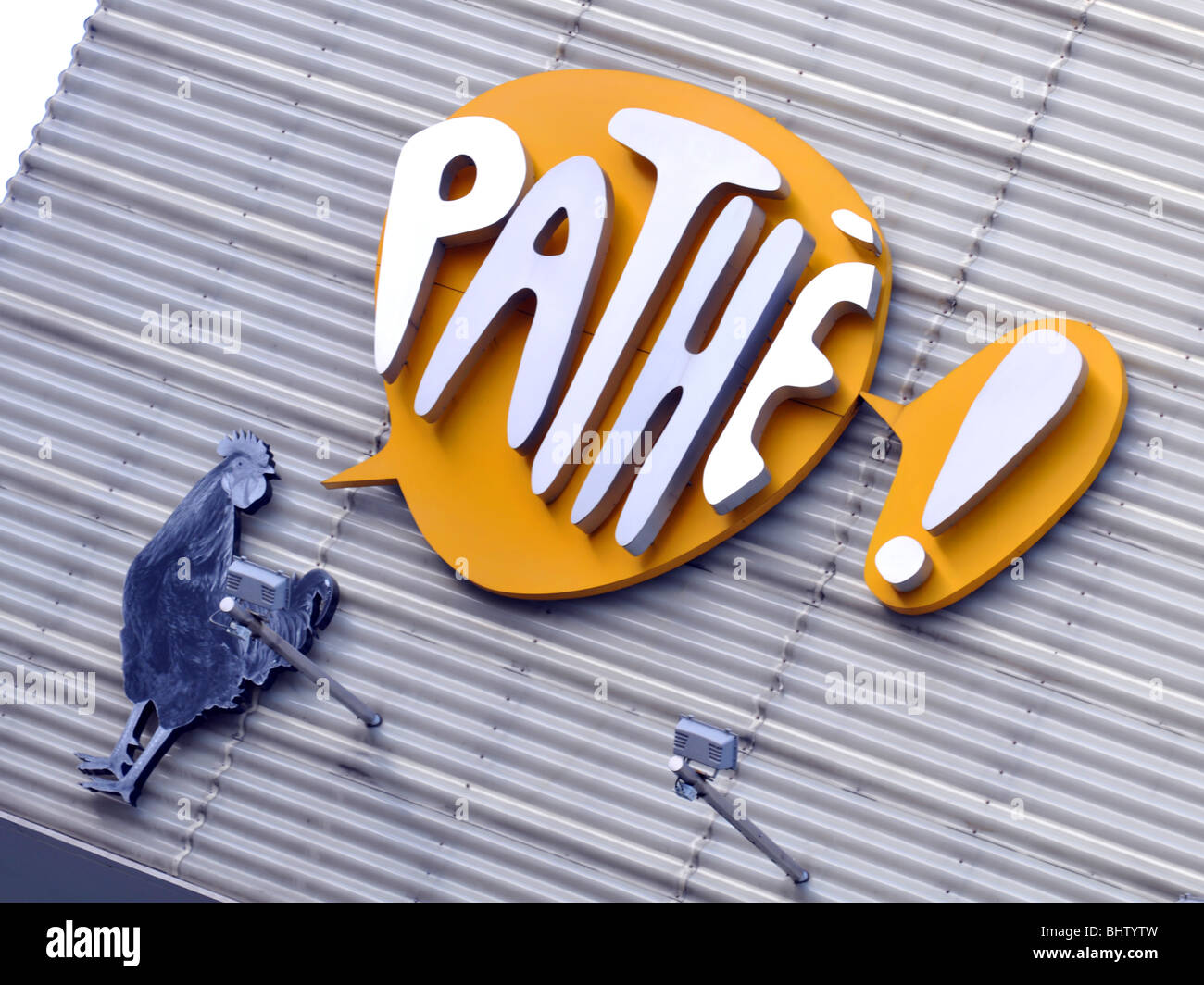 Pathe sign - Stock Image