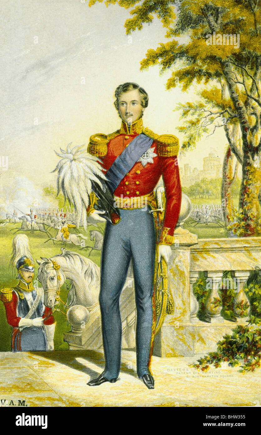 Prince Albert. England - Stock Image