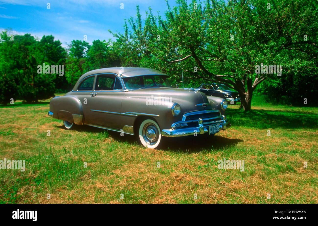 1951 Chevrolet Deluxe Stock Photos 2 Door Hardtop Styleline Image