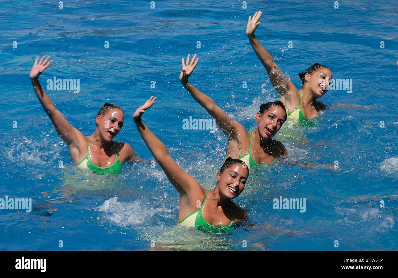 Synchronized Swim Team Stock Photos & Synchronized Swim ...