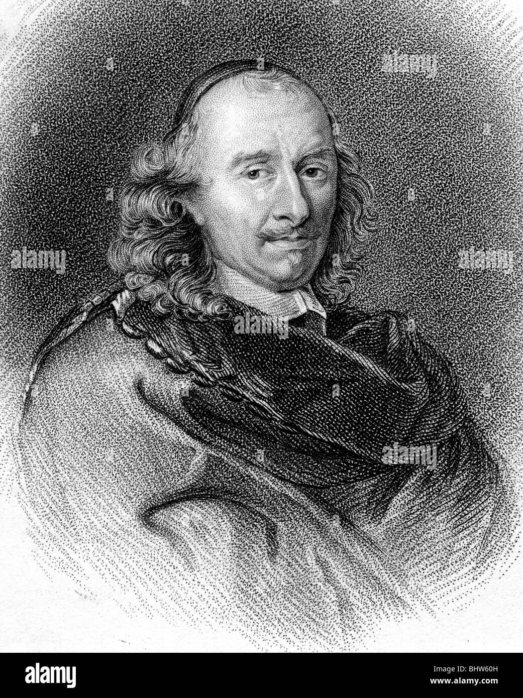 PIERRE CORNEILLE - French dramatist  (1606-84) - Stock Image