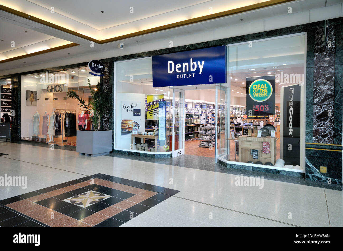 Denby Outlet Store - Stock Image