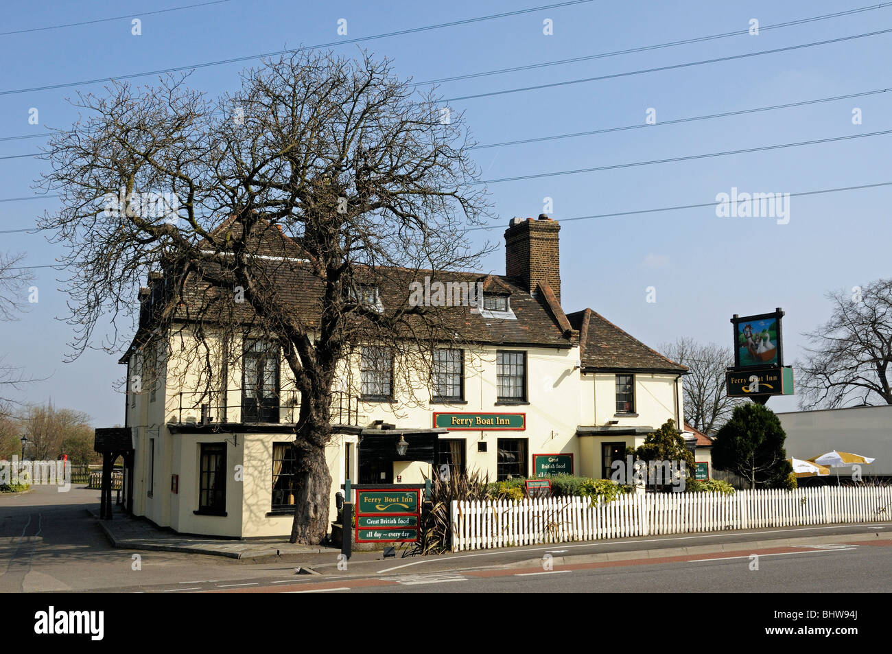 Ferry Boat Inn Walthamstow London England UK - Stock Image