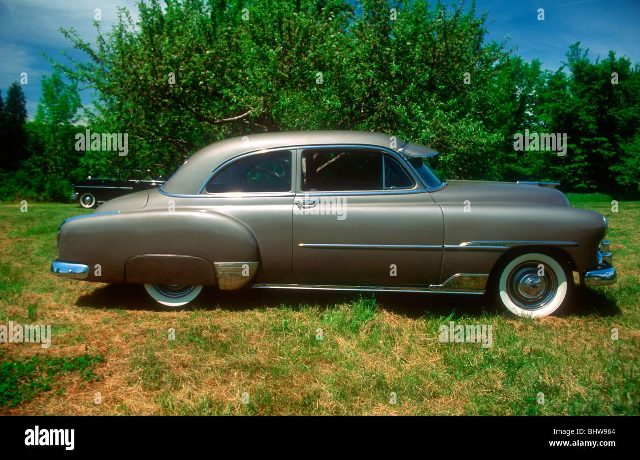 1951 Chevrolet Deluxe Stock Photos Bel Air 4 Door Styleline 2 Image