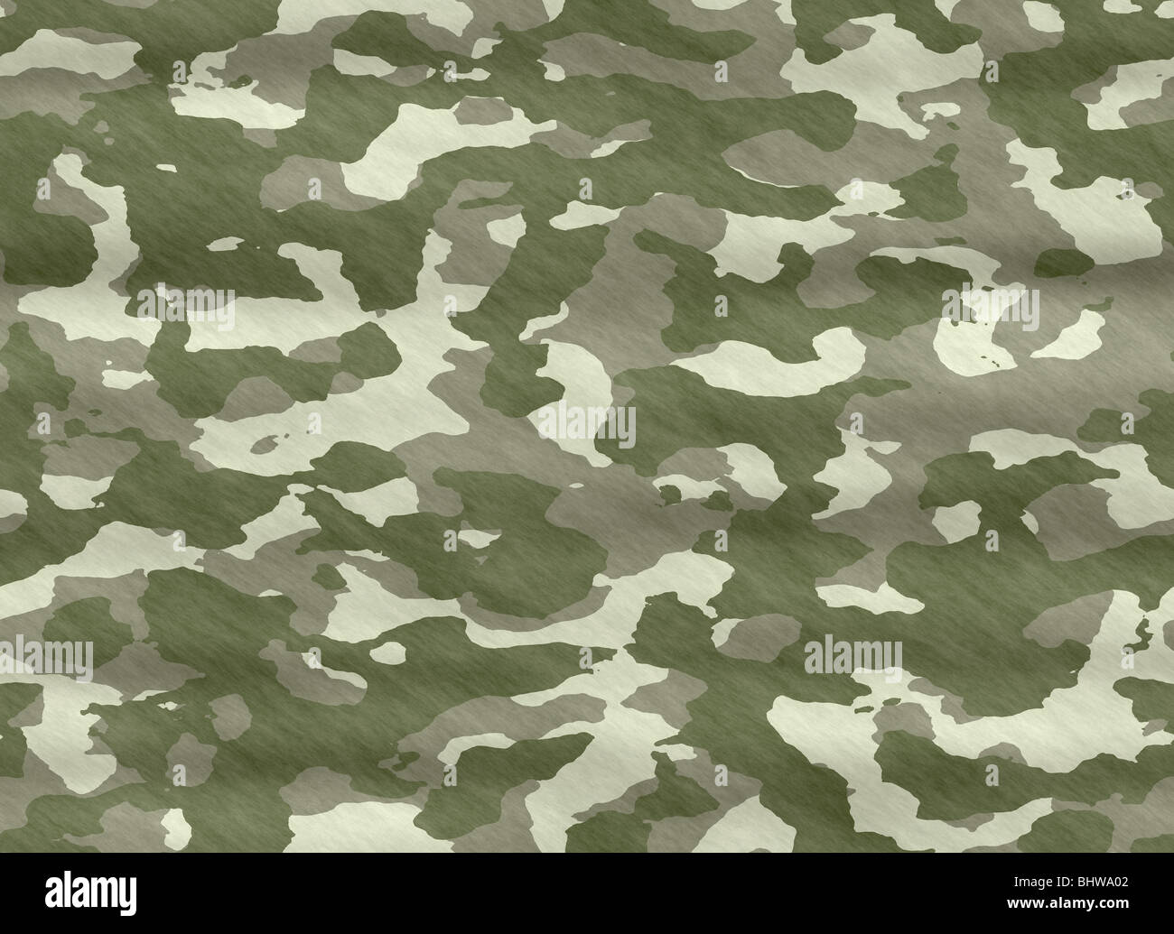 excellent background illustration of disruptive camouflage material - Stock Image